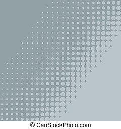 Abstract flat blue grey halftone diagonal background.