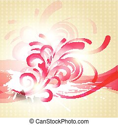 abstract floral artwork