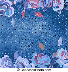 Abstract floral background. EPS 8