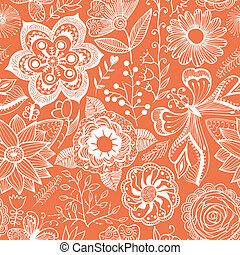 Abstract floral background, summer theme seamless pattern, vector wallpaper, summer texture, wrapping with flowers, spring and summer theme for your design