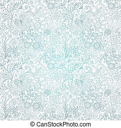 Abstract floral background, summer theme seamless pattern,...