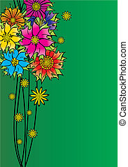 abstract floral image