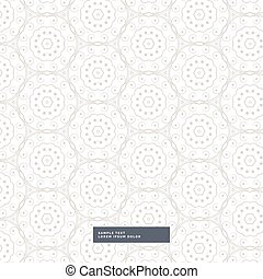 abstract floral pattern in mandala style background