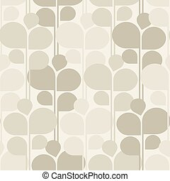 Abstract floral seamless pattern background. Vector