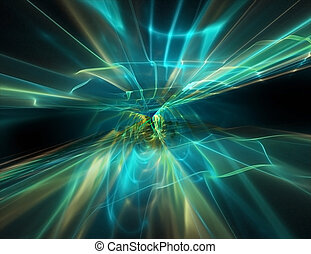 abstract flow of energy