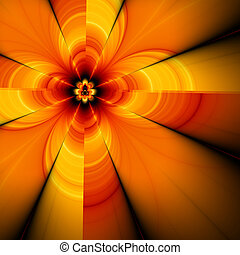 Abstract flower, fractal30G