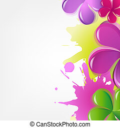 Abstract Flowers