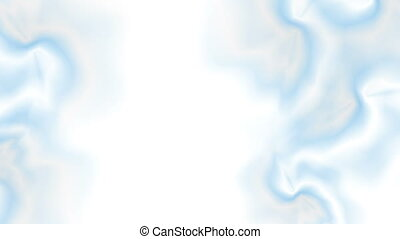 Abstract flowing light blue gradient video animation -...