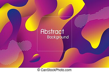 Abstract fluid color background vector illustration