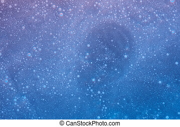 Abstract foam texture background