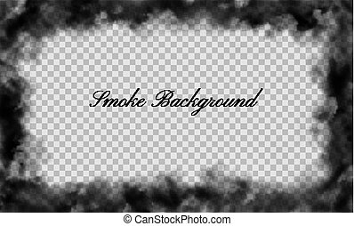 Abstract fog background with copy space. Vector...
