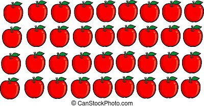abstract food background with fruit