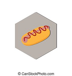 abstract food icon