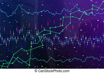 Abstract forex texture