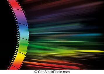 abstract, fotografisch, back, kleurrijke