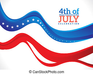 abstract fourth of july background