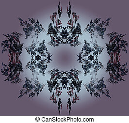 Abstract Fractal Art Devils Lair Object