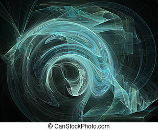 Abstract fractal backgroun