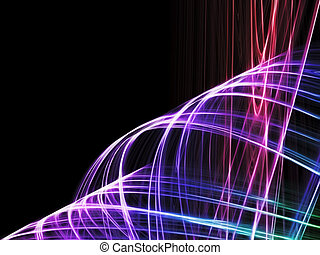 abstract fractal background - beautiful abstract fantasy ...