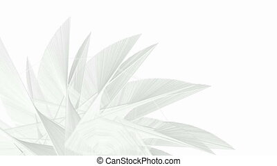 Abstract fractal forms background