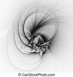 Abstract fractal illustration for creative design