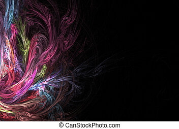 Abstract Fractal Layout