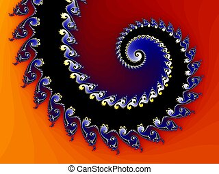 Abstract fractal structure