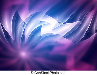 Abstract fractal texture, wisps and lights, Background ...