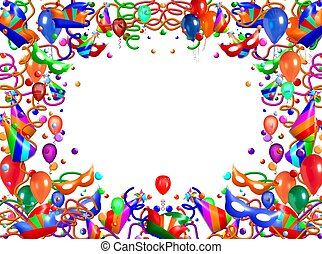 abstract frame balloon