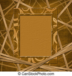 Abstract frame for photo or  greeting