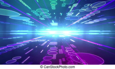 """""""Abstract Future colorful background with Circles"""""""