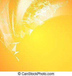 Abstract futuristic background.