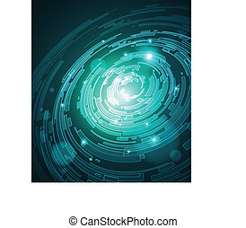abstract futuristic background - vector is available