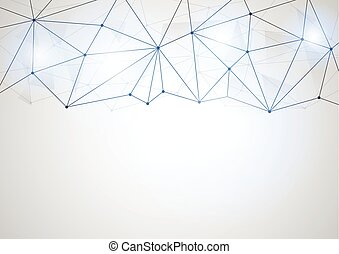 Abstract futuristic shape. Computer generated on white background-8