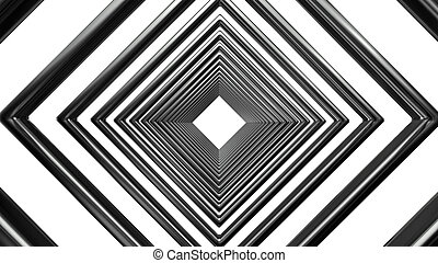 abstract futuristic square pattern