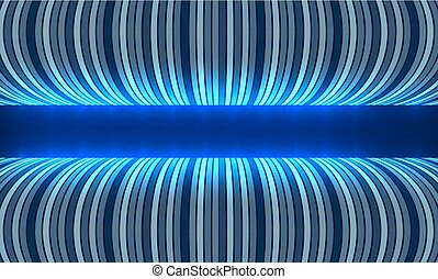 Abstract futuristic vector backdrop and blue lines