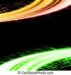 abstract, futuristisch, achtergrond, ontwerp