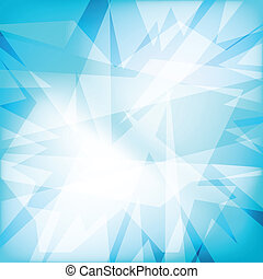 Abstract futuristy crystal background - Abstract crystal...