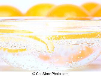 gas lemon water