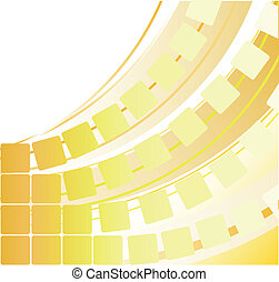 abstract, gele achtergrond