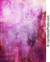abstract, gemengde media, kunstwerk