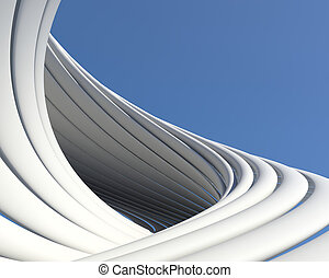 Abstract geometric architecture