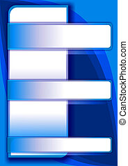 abstract geometric background - 08 - blue business...