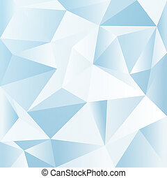 Abstract geometric background - Abstract blue geometric...