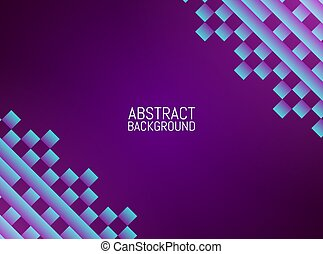 Abstract geometric background. Color mosaic design. Vector illustration