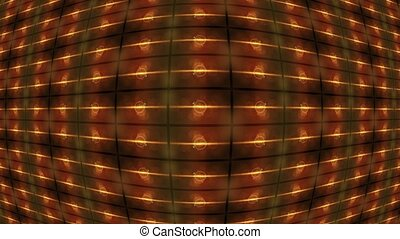 Abstract geometric background convex in the middle. - ...