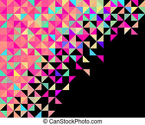 Abstract Geometric Background