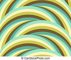 abstract geometric background green blue circles stripes