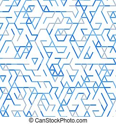 Abstract geometric background random lines pattern -...