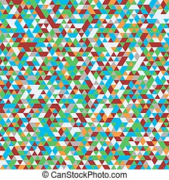 abstract geometric background  triangles